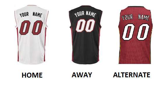 MIAMI PRO BASKETBALL Number Kit