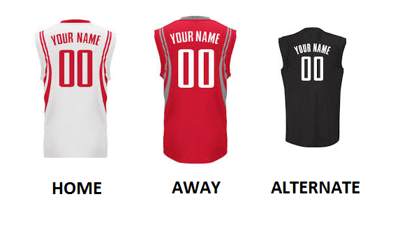 HOUSTON PRO BASKETBALL Number Kit
