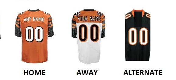 CINCINNATI Pro Football Number Kit