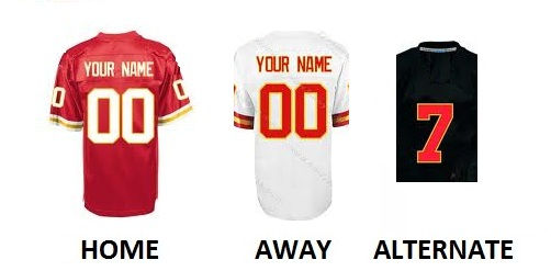 KANSAS CITY Pro Football Number Kit