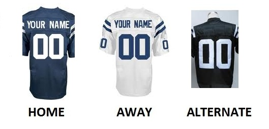 INDIANAPOLIS Pro Football Number Kit
