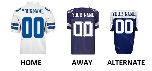 DALLAS Pro Football Number Kit