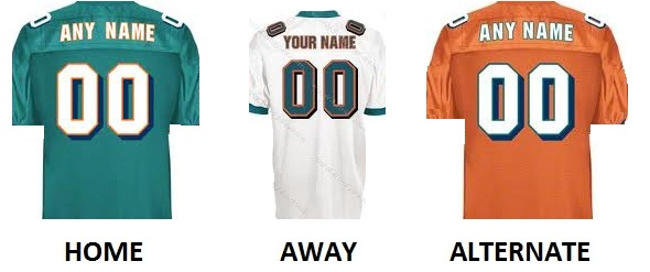 MIAMI Pro Football Number Kit