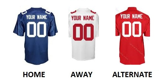 NEW YORK G Pro Football Number Kit