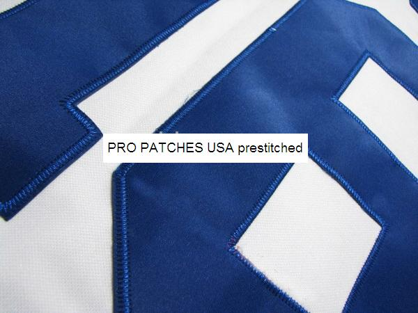 "10"" Pre-Stitched Twill Numbers (1 color)"