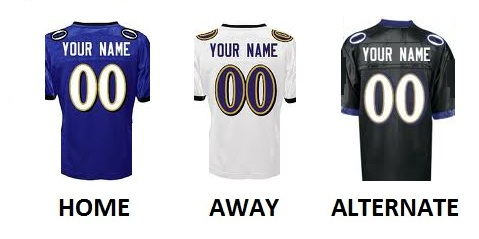 BALTIMORE Pro Football Number Kit