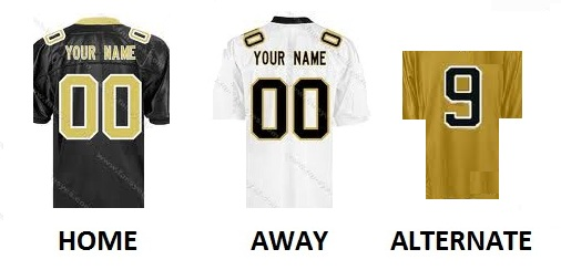 NEW ORLEANS Pro Football Number Kit