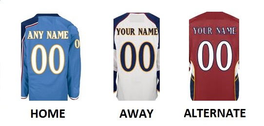 ATLANTA Pro Hockey Number Kit